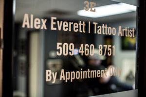 Alex Everett | Tattoo Studio